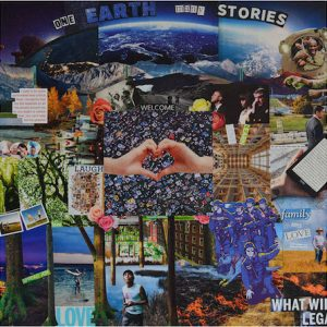 "Collage. ""One Earth Many Stories"""